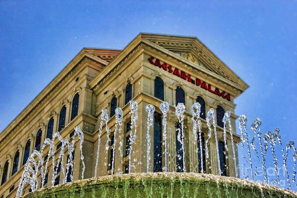 Photograph - Palace Pool - Caesars Palace By Diana Sainz by Diana Raquel Sainz