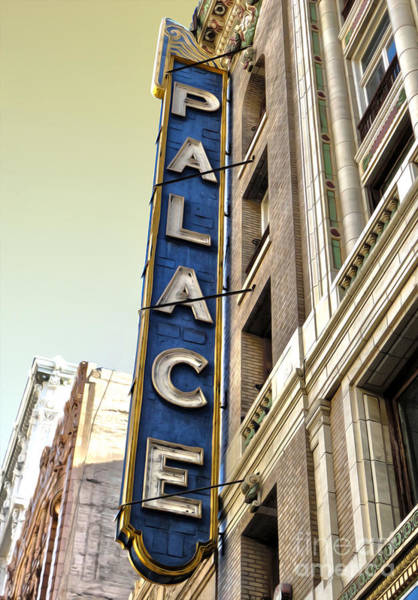 Photograph - Palace Theater In Downtown Los Angeles by Gregory Dyer