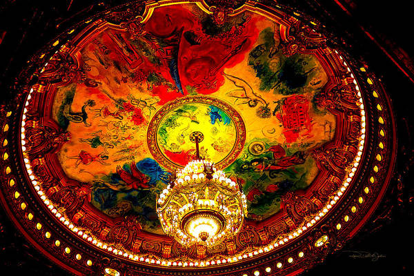 Brillante Photograph - Palais Garnier Opera House II by Roxanne Brillante-Justice