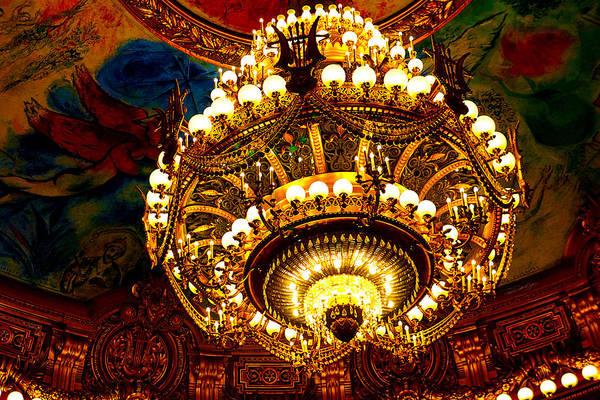 Brillante Photograph - Palais Garnier Opera House IIi by Roxanne Brillante-Justice