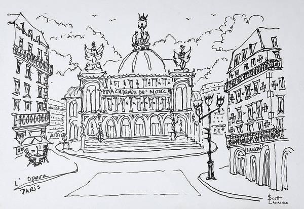 Lawrence Photograph - Palais Garnier Opera House, Paris by Richard Lawrence