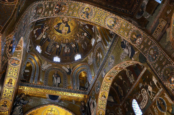 Pantocrator Photograph - Palatine Chapel by RicardMN Photography