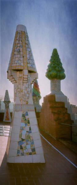 Photograph - Palau Guell Chimneys by Joan Carroll