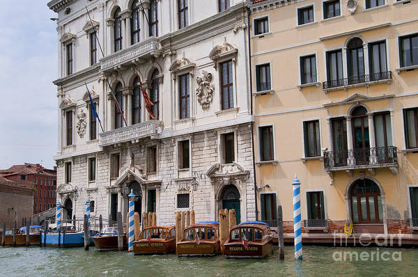 Photograph - Palazzos On The Grand Canal by Brenda Kean