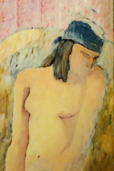 Painting - Pale Nude by Lutz Baar