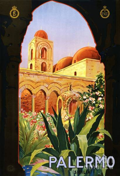 Sicily Painting - Palermo by Pg Reproductions