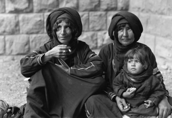 Wall Art - Photograph - Palestine Bedouin Women by Granger