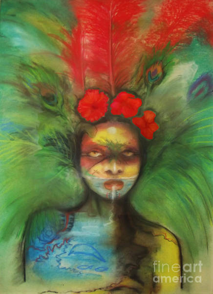 Painting - Pali by Donna Chaasadah