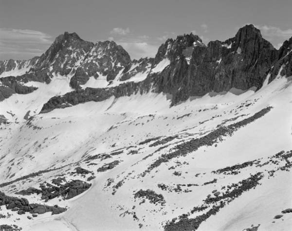 Photograph - 406429-palisade Peaks Seen From Glacier Notch by Ed  Cooper Photography