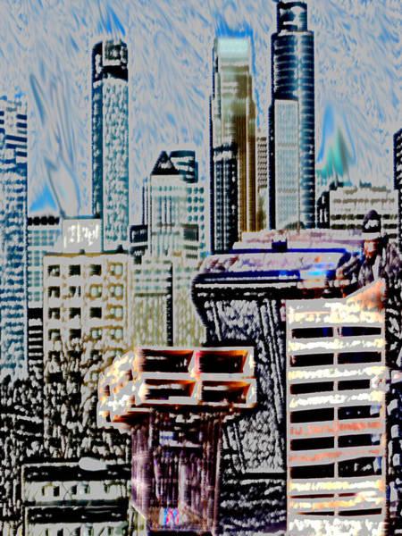 Mixed Media - Pallet Man by Dennis Buckman