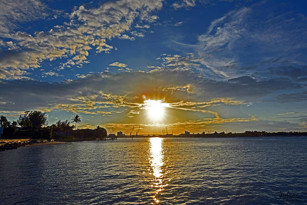 Photograph - Palm Beach Sundown by Jody Lane