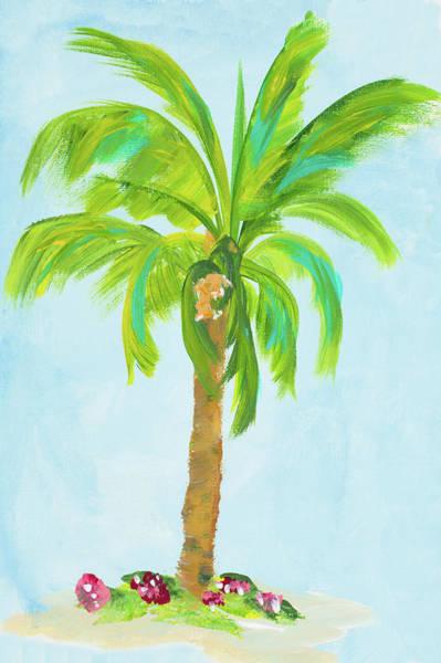 Wall Art - Digital Art - Palm Days I by Julie Derice