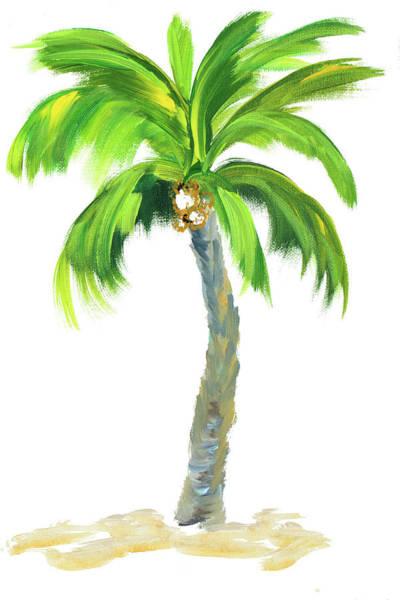 Wall Art - Digital Art - Palm Days Vi by Julie Derice