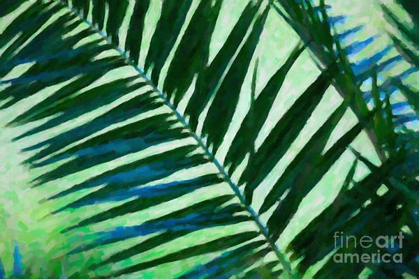 Digital Art - Palm Leaf by Dale Powell