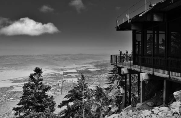 Aerial Tramway Wall Art - Photograph - Palm Springs Aerial Tramway View by David Lobos
