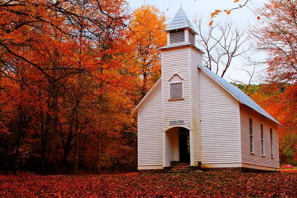 Photograph - Palmer Chapel  by Carol Montoya
