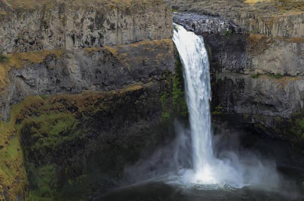 Blye Photograph - Palouse Falls  by Kenneth Blye
