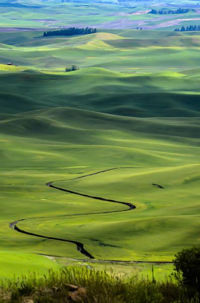 Blye Photograph - Palouse From Steptoe Butte by Kenneth Blye