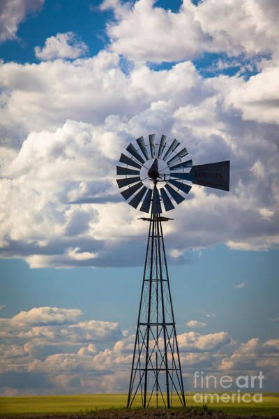 Photograph - Palouse Windmill by Inge Johnsson