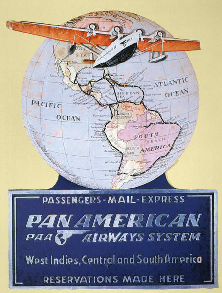 Photograph - Pan American Airways 1934 by Granger