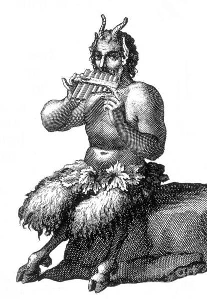 Photograph - Greek God Pan by Photo Researchers
