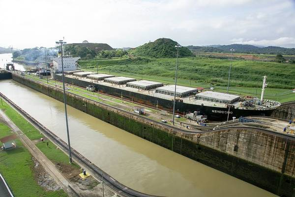 Panama Photograph - Panama Canal by Photostock-israel