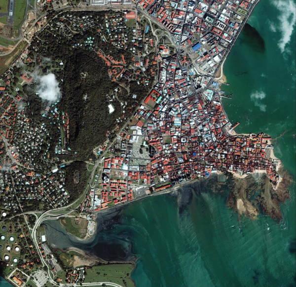 Panama Photograph - Panama City by Geoeye/science Photo Library