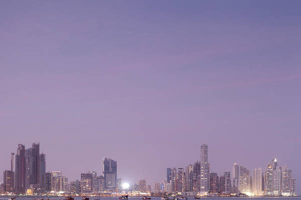Panama Photograph - Panama Skyline by Zxvisual