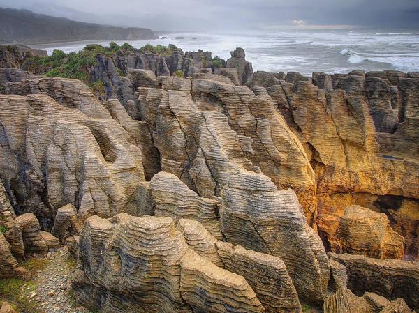 Photograph - Pancake Rock by Kim Andelkovic