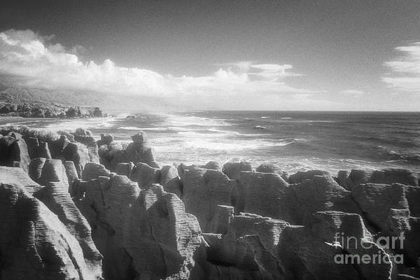West Point Photograph - Pancake Rocks Punakaiki West Coast Nz by Colin and Linda McKie