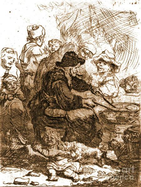 Wall Art - Photograph - Pancake Woman 1660 by Padre Art