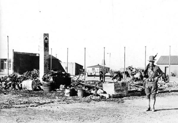 Photograph - Pancho Villa's Raid, 1916 by Granger