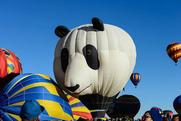 Panda Balloon Art Print