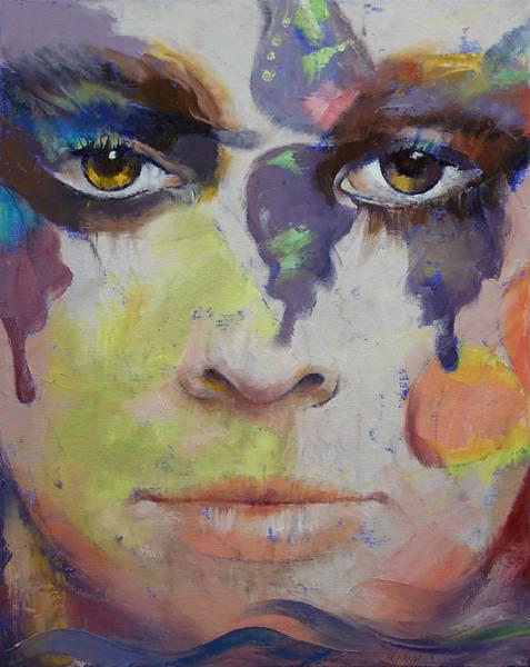 Mardi Gras Wall Art - Painting - Pandora by Michael Creese
