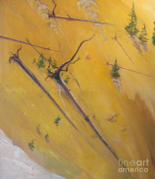 Painting - Yellowstone Canyon - Tolpo Point Mural Panel 5 by Art By Tolpo Collection