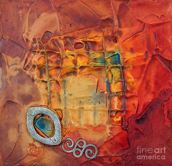 Mixed Media - Panel Six by Phyllis Howard