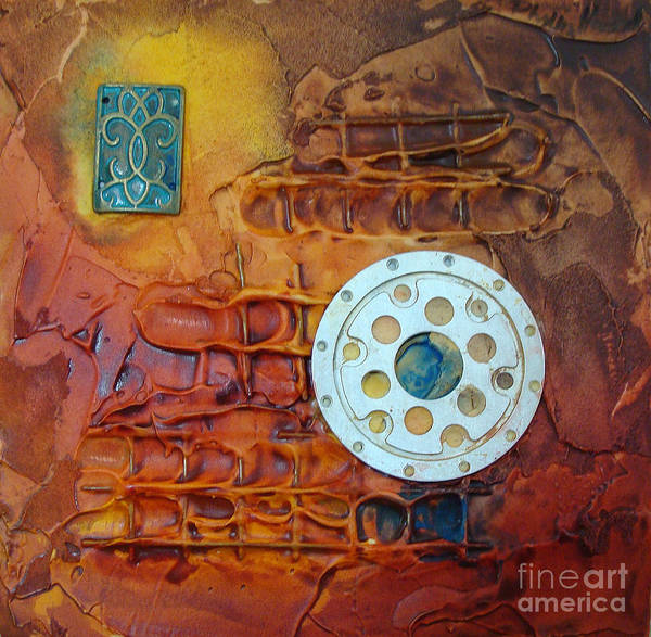 Mixed Media - Panel Three by Phyllis Howard