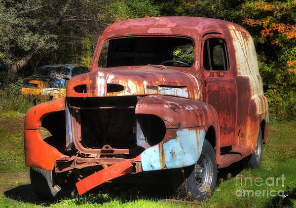 Photograph - Panel Truck by Alana Ranney