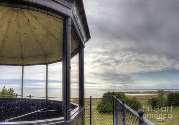 Upper Peninsula Wall Art - Photograph - Paninsula Point Lighthouse Lantern Room by Twenty Two North Photography
