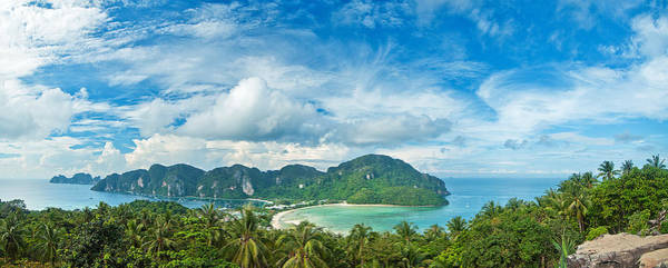 Phi Photograph - Panorama | Koh Phi Phi Don | Thailand by Xavier Hoenner Photography