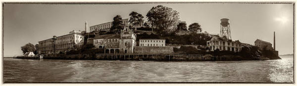 Photograph - Panorama Alcatraz Torn Edges by Scott Campbell