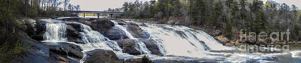 Photograph - Panorama High Falls Georgia by Ginette Callaway