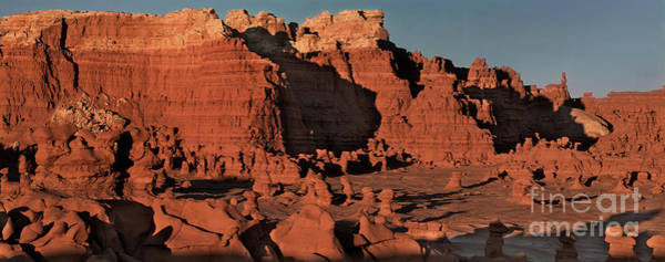 Photograph - Panorama Hoodoos Goblin Valley Utah by Dave Welling