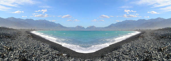 Panorama Lake Art Print
