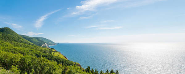 Wall Art - Photograph - Panorama Of A Coastal Scene On The Cabot Trail by Vadim Petrov