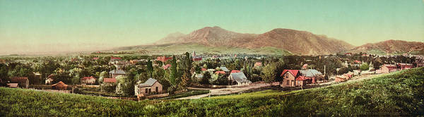 Wall Art - Photograph - Panorama Of Boulder, Colorado by Underwood Archives