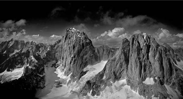 Photograph - 101558 And 101569-panorama Of Kichatna Spires by Ed  Cooper Photography