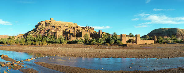 Ait Benhaddou Photograph - Panorama Of Ksar Of Ait-ben-haddou by Jason Langley