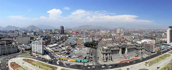 Lima Photograph - Panorama Of Lima, Peru by Jumper