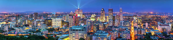 Quebec City Photograph - Panorama Of Montreal by Naibank